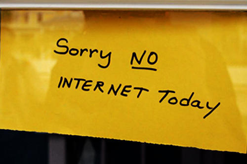 no internet photo